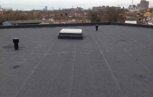 commercial flat roofing contractor southampton